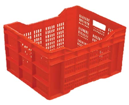 Fruit and vegetable crate